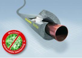 Antimicrobiële isolatie voor verwarming en sanitair