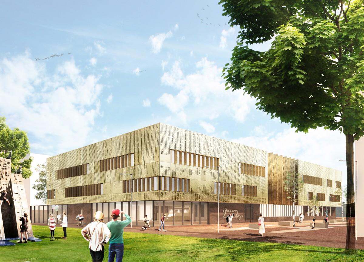 Atelier Pro wint aanbesteding IJburgcollege
