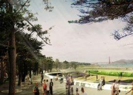 Team West 8 presenteert plan voor Presidio Parklands in San Francisco