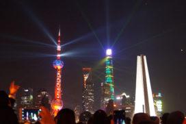Altijd kerst in Shanghai