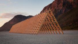 Paviljoens aan de Noorse kust