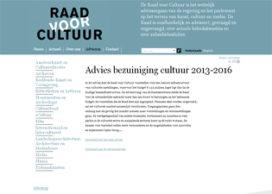 Advies Raad voor Cultuur mist toekomstperspectief