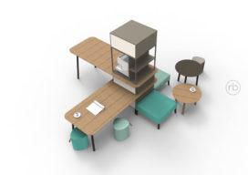 ARC16: Social coffee island – Robert Bronwasser design