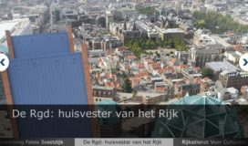 Rijksgebouwendienst fuseert met Rijksvastgoed- en ontwikkelingsbedrijf