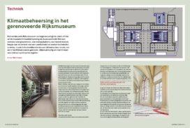 Rijksmuseum: de state-of-the-art in museale klimaatbeheersing