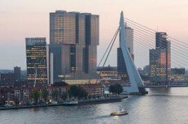 Het interieur van de Rotterdam