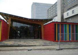Erasmus Universiteit Rotterdam opent tijdelijk gebouw