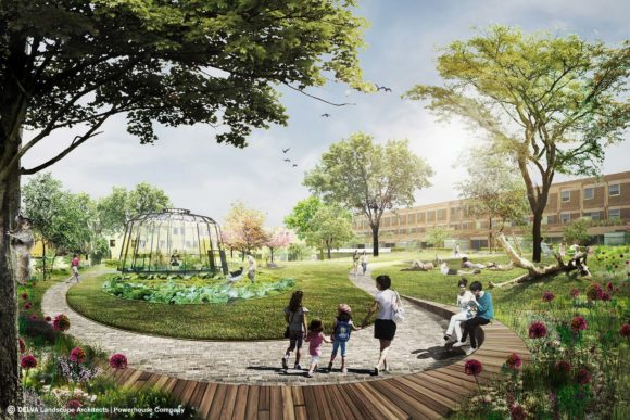 Rotterdam Parkstad door Powerhouse Company / DELVA Landscpae Architects / Skonk
