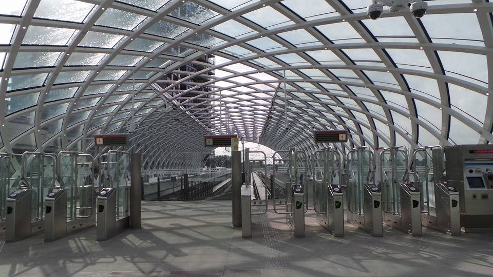 Startstation E-slinge Den Haag Cs. Fotograaf Tom Lek