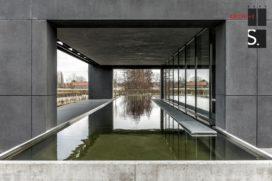 Kantoorgebouw Bekaert in Zwevegem (B)