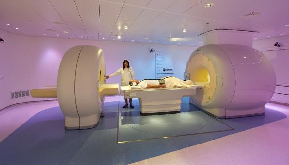 Scanner MRI-Pet centrum VU/mc