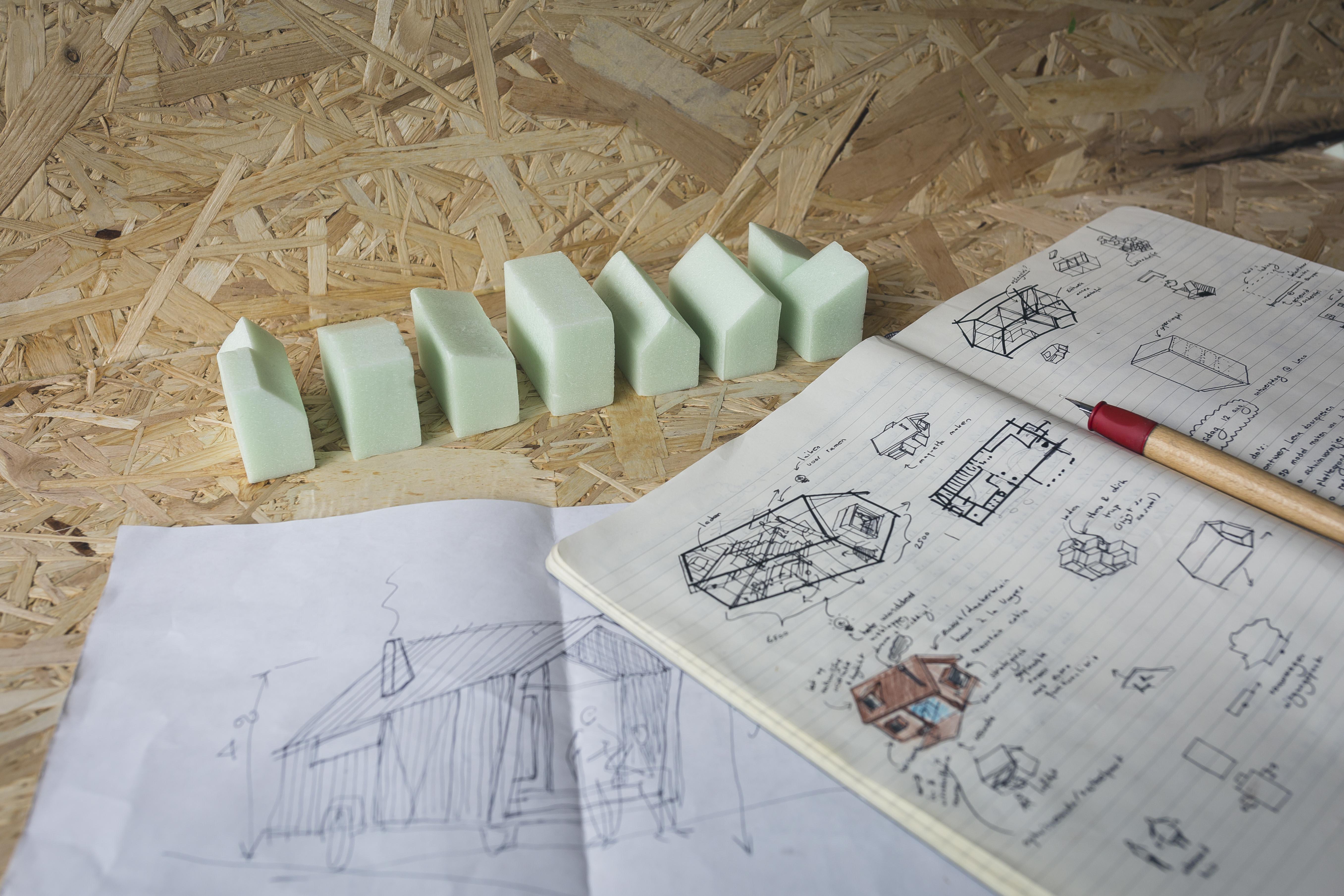 Schetsen opinie tiny houses