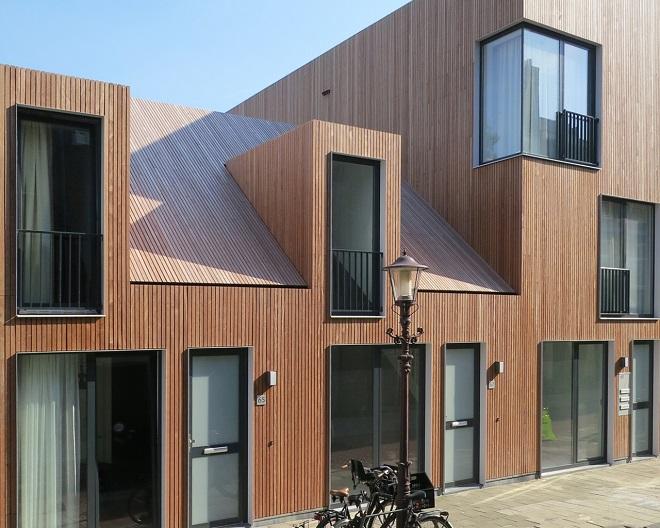 Architect Kleine Woning : Arc14 inzending van de dag: houten huisjes wenslauerstraat de