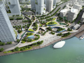 KuiperCompagnons ontwerpt skypark Shanghai