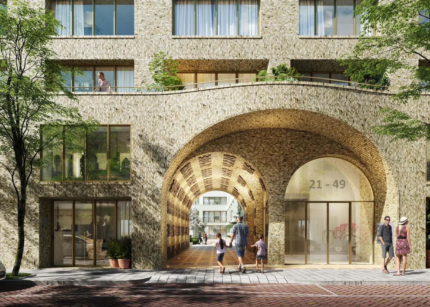 Uitslag Tender Spaarndammerschool Korth Tielens architecten en Marcel Lok_Architect