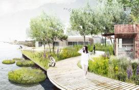 Groen kantorenpark van woonboten vindt doorgang