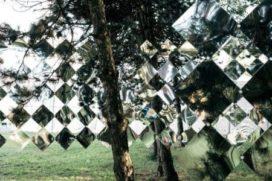Spiegelpaviljoen op Sziget festival in Hongarije