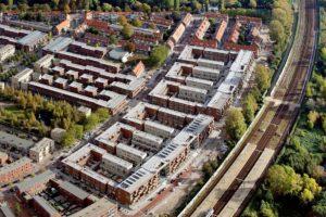 272 woningen Spoorwijk III in Den Haag door MASSA