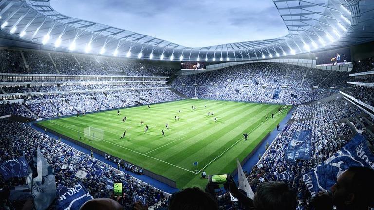 New Stadium Tottenham Hotspurs door Populous