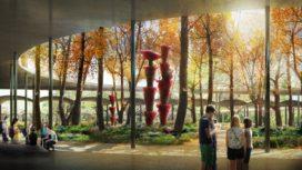 Botanische Tuin in Houston van West8 stap dichterbij