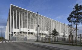 Nouveau Stade de Bordeaux door Herzog & de Meuron