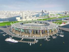 Drijvende stadions als oplossing voor hergebruik