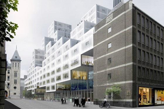 OMA Stadskantoor Rotterdam
