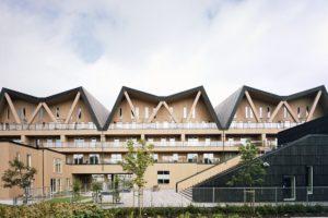 Woningbouwcomplex in Stavanger (NO) door Onix / HLM arkitektur & plan