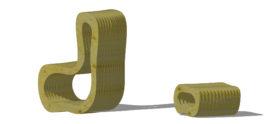 Inzending ARC13 Stoelontwerp – Lamellenstoel