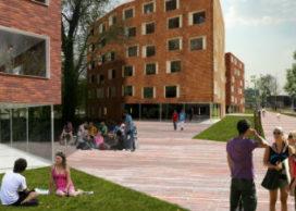 Mecanoo ontwerpt studentenwoningen in Leeuwarden
