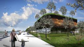 Doepel Strijkers'SubZero eerste gebouw Floriade 2022