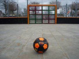 Interactieve voetbalmuur voor Haagse jeugd