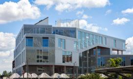 Sydhavnen schoolgebouw verbindt Kopenhagen met zijn haven