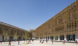 Internationale Franse School in Beijing door Jacques Ferrier Architecture