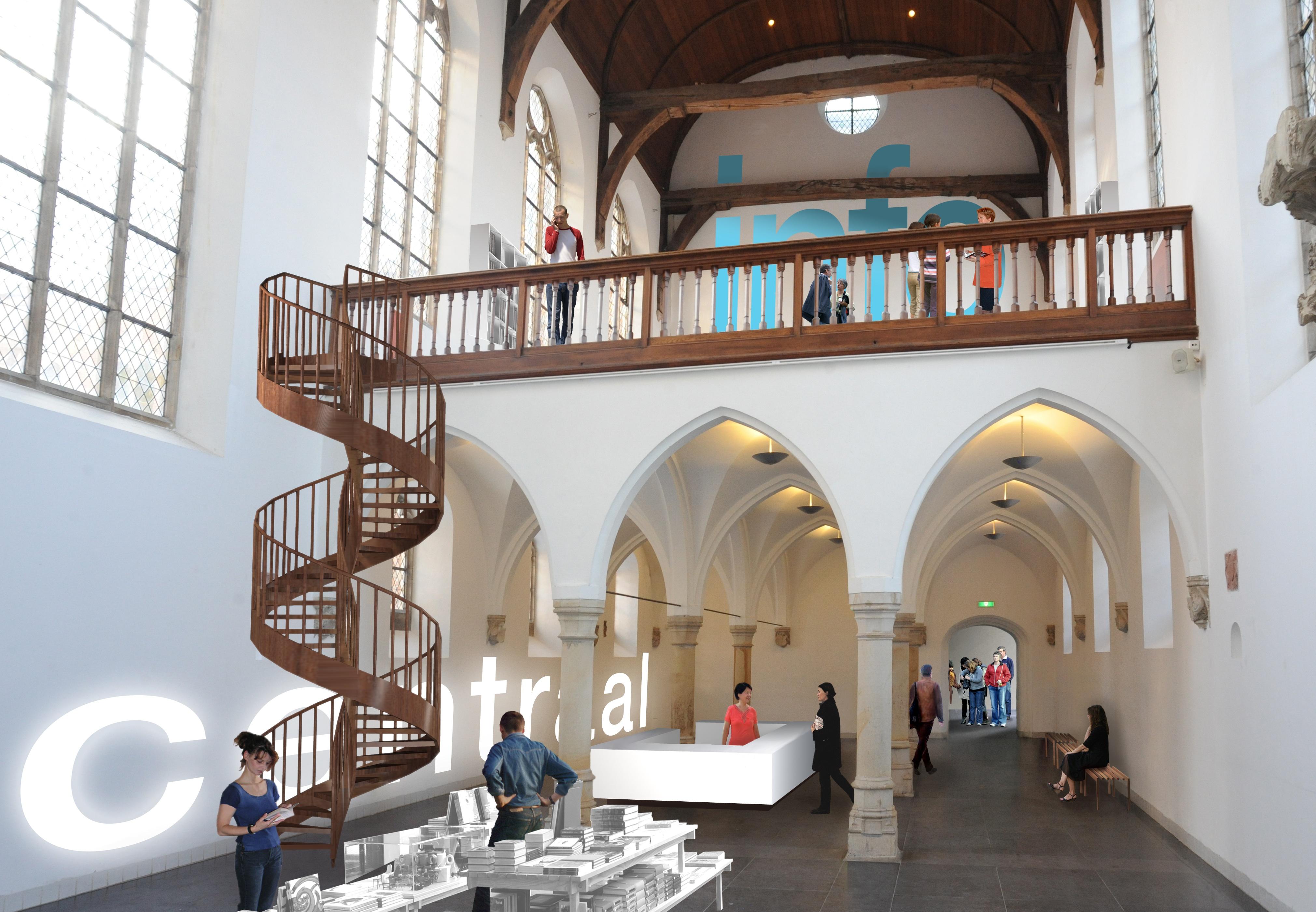 Genoeg Verbouwing Centraal Museum Utrecht van start - De Architect &JY72