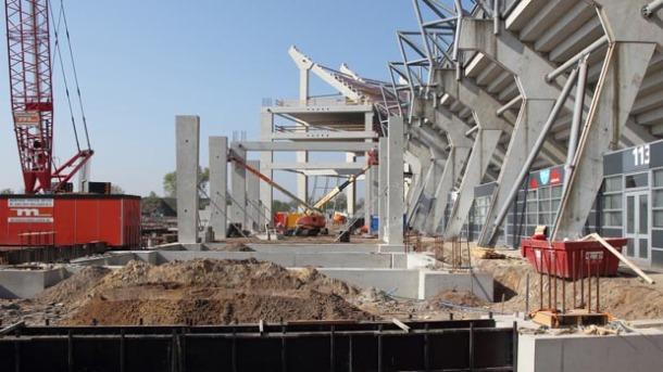 Uitbreiding capaciteit FC Twente stadion