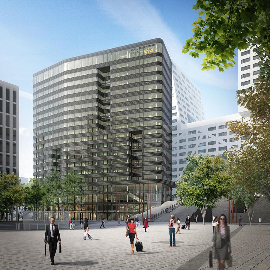 Utrecht WTC door MVSA, opinie Dirk Jan Postel