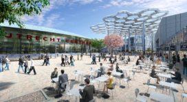 Stationsplein Utrecht: levendig en ruim