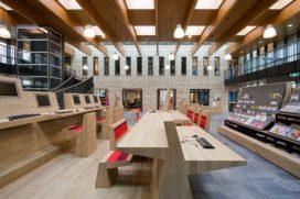 Bibliotheek Vleuterweide in Utrecht door AEQUO