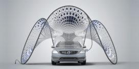 Golvend laadstation voor Volvo V60 Hybrid