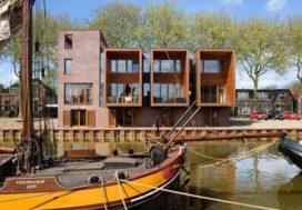 Woningen in Vreeswijk door Bakers Architecten