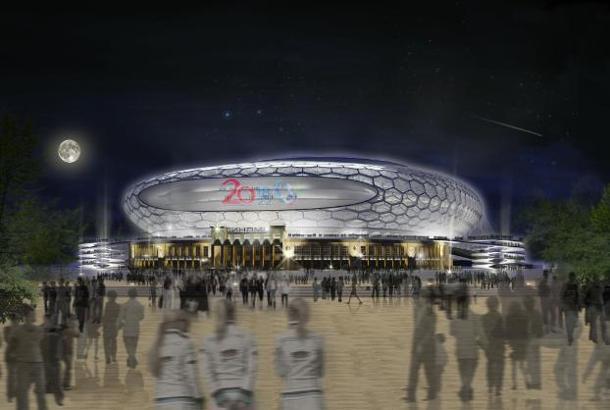 VTB Arena door Erick van Egeraat