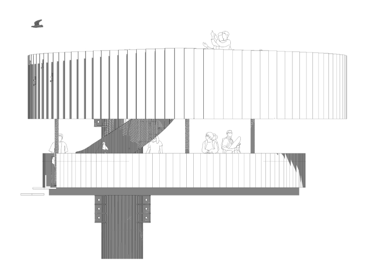 Waddenbelevingspunt_Knevel Architecten