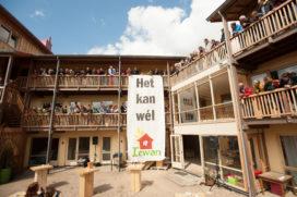 Grootste strogebouw van Nederland geopend