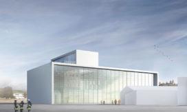 gmp toont ontwerp brandweerschool Wurzburg