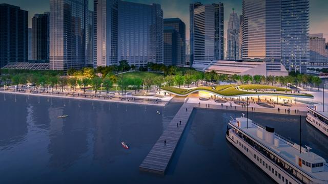 West8 wint prijsvraag Toronto Waterfront