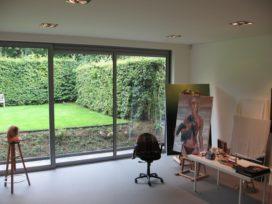 Uitbreiding woonhuis met atelier