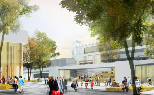Winkelcentrum Hart van Zuid Rotterdam