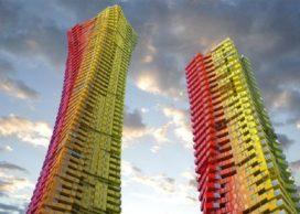 Wolkenkrabbers in plaats van sloppenwijken?