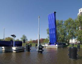 Fietsbrug in Groningen door Yushi Uehara Zerodegree Architecture